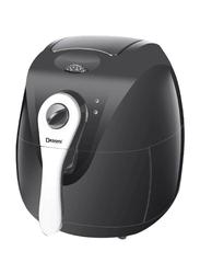 Dessini 2.6L Plastic Digital Air Fryer, DAF600, Black/Silver