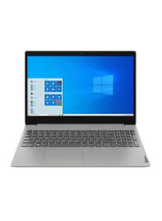 "Lenovo IdeaPad 3 Laptop, 15.6"" FHD Display, Intel Core i3-1005G1 10th Gen 1.2GHz, 256GB SSD, 8GB RAM, Intel UHD Graphics, EN KB, Window 10 Home, 81WE011UUS, Platinum Grey"