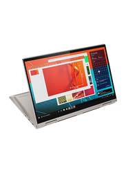 "Lenovo Yoga C740 Convertible 2-In-1 Laptop, 14"" FHD Touch Display, Intel Core i5-10210U 10th Gen 1.6 GHz, 256GB SSD, 8GB RAM, Intel UHD Graphics, Eng KB w/ TB, Win 10, Mica Silver"
