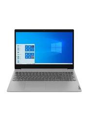 "Lenovo IdeaPad 3 Notebook Laptop, 15.6"" Display, FHD Display, Intel Core i3-1005G1 10th Gen 1.2 GHz, 256GB SSD, 8GB RAM, Intel UHD Graphics, En KB, Win 10, Grey"
