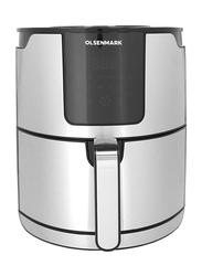 Olsenmark 5L Smart Air Fryer with Hot Air Circulation Technology, 1400W, OMAF2430, Black