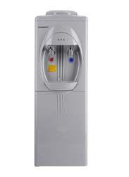 Olsenmark Top Load Hot & Cold Water Dispenser with Refrigerator Cabinet, Cup Holder, OMWD1629, White