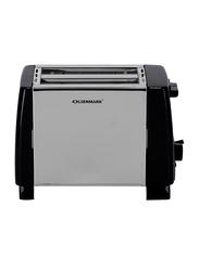 Olsenmark 2 Slices Bread Toaster, 750W, OMBT2398, Silver
