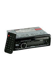 Olsenmark Car MP3 Player with FM, USB, AUX, MP3, Bluetooth and Remote Control, Black