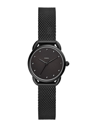 Fossil Tailor Analog Watch for Women with Stainless Steel Band, Water Resistant, ES4489, Black