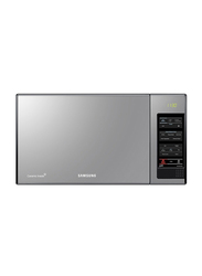 Samsung 40L Grill Microwave Oven, 950W, with Black Glass Mirror, MG402MADXBB, Black