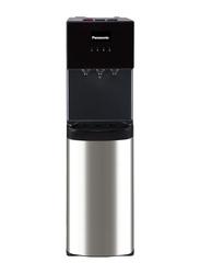 Panasonic Bottom Load Water Dispenser, Child Lock, SDM-WD3438BG, Black/Silver