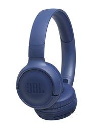 JBL Tune 500BT Wireless On-Ear Headphone with Mic, Blue