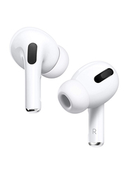 Apple AirPods Pro Noise Cancelling Earphones with Wireless Charging Case, White