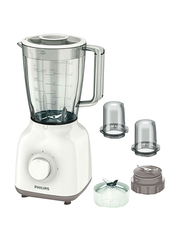 Philips Daily Collection Blender, 400W, HR2114, White/Beige