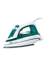 Braun TexStyle 3 Steam Iron, 2000W, TS345, Green