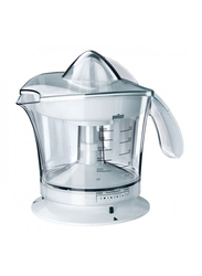 Braun Citrus Juicer, 200W, MPZ9WH, White/Clear
