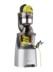 Kenwood PureJuice Pro Centrifugal Juice Extractor, 240W, JMP800SI, Silver/Clear