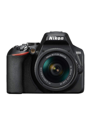 Nikon D3500 DSLR Camera, 24.2MP, Full HD, AF-P DX 18-55MM VR Lens Kit, Black