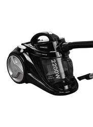 Kenwood 2200-Watt Canister Vacuum Cleaner, VC7050, Black