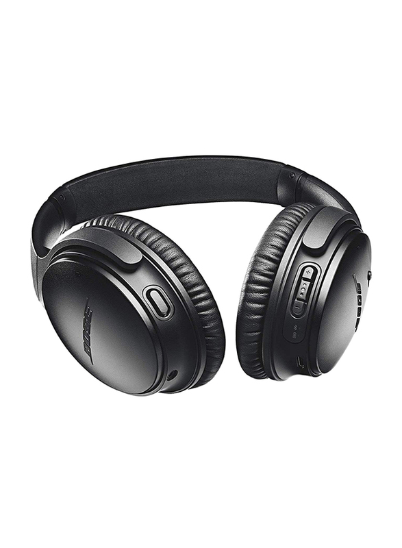 Bose QuietComfort 35 II Wireless Over-Ear Noise Cancelling Headphones with Mic, Black