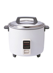 Panasonic 1.8L Rice Cooker, 2200W, SRW18G, White