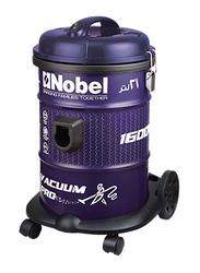 Nobel 1600-Watt Drum Vacuum Cleaner, NVC2121, Purple/Black