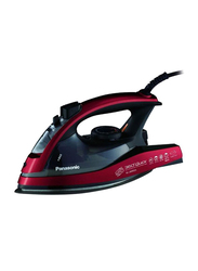 Panasonic Steam Iron, 2400W, NI-JW950ARTH, Red/Black