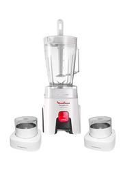 Moulinex Blender, 450W, LM242025, White/Black/Clear