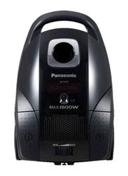 Panasonic 1500-Watt Standard Series Canister Vacuum Cleaner, MC-CG523, Black