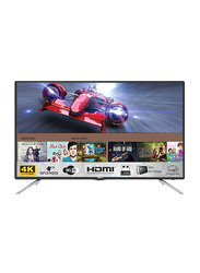 Nikai 55 Inch UHD LED Smart TV, UHD55LEDS2, Black