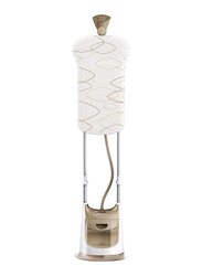 Philips 2-In-1 Pro Touch Garment Steamer 2000W, GC618, White/Gold