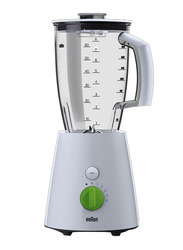 Braun Tribute Collection Blender, 800W, JB3010, White/Clear