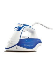 Kenwood Steam Iron, 2600W, ISP600BL, White/Blue