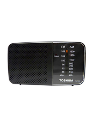 Toshiba Pocket Radio, TX-PR20-S, Black