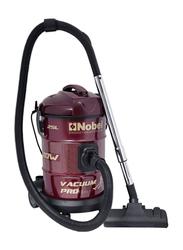 Nobel 2000-Watt Drum Vacuum Cleaner, NVC2525, Red