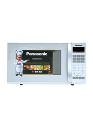 Panasonic 27L Convection Microwave Oven, 900W, NNCT651M, Silver