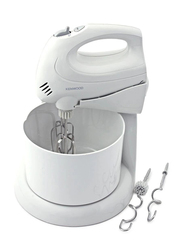 Kenwood Countertop Hand Mixer, 250W, HM430, White