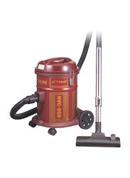 Nikai 1600-Watt Cylinder Vacuum Cleaner, NVC950, Brown/Red
