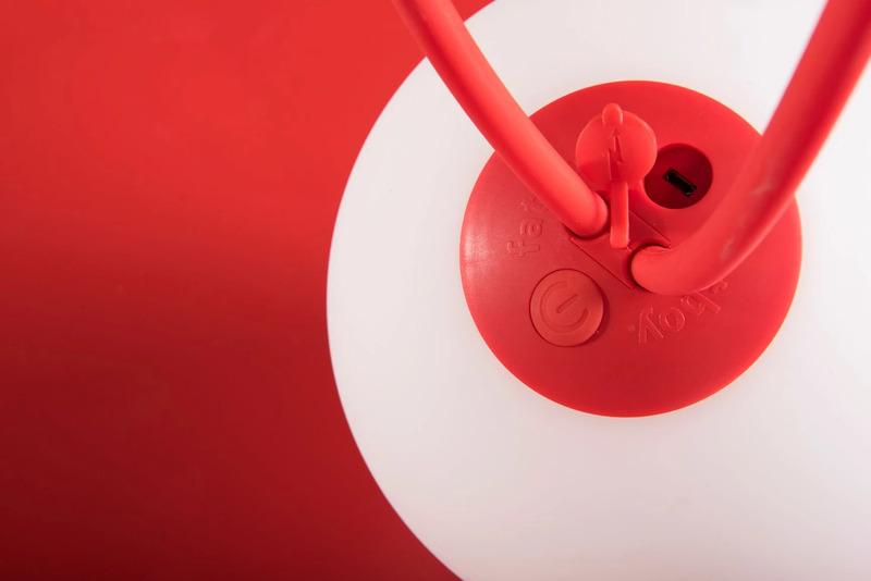 Fatboy Bolleke Camping Lamp, Red