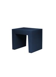 Fatboy Concrete Seat Indoor/Outdoor Stool, Dark Ocean Blue