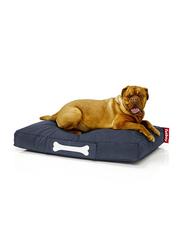 Fatboy Doggie Indoor Stonewashed Lounge Large Bed, Blue
