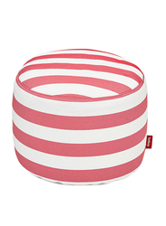 Fatboy Point Pouf, Red Striped