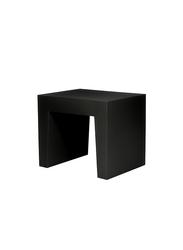 Fatboy Concrete Seat Indoor/Outdoor Stool, Black