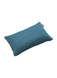 Fatboy Recycled Velvet Indoor King Pillow, Cloud Blue