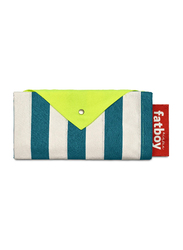 Fatboy Miasun Stripe Pattern Garden and Beach Tent, Azur, Blue/White