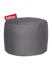 Fatboy Point Stonewashed Indoor Pouf, Grey