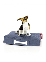Fatboy Doggie Indoor Stonewashed Lounge Small Bed, Blue