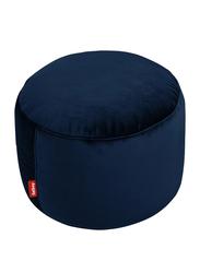 Fatboy Point Velvet Indoor Pouf, Dark Blue