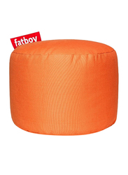 Fatboy Point Stonewashed Indoor Pouf, Orange