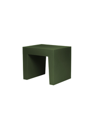 Fatboy Concrete Seat Indoor/Outdoor Stool, Forest Green