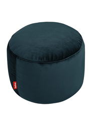 Fatboy Point Velvet Indoor Pouf, Petrol