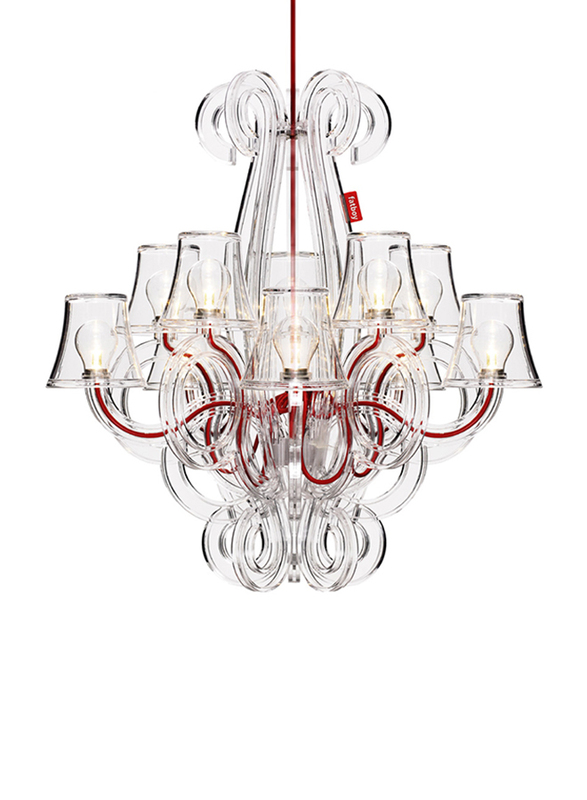 Fatboy Rockcoco 12.0 Ceiling Lamp, Transparent