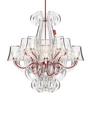 Fatboy Rockcoco 12.0 Ceiling Lamp, Transparent