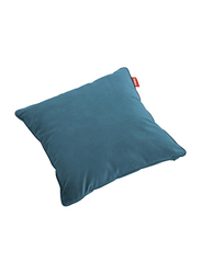 Fatboy Recycled Velvet Indoor Square Pillow, Cloud Blue